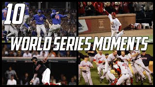 MLB   10 Greatest World Series Moments of the 21st Century