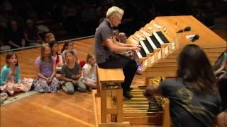 Cameron Carpenter and Sarah Willis explore the Berlin Philharmonie Organ