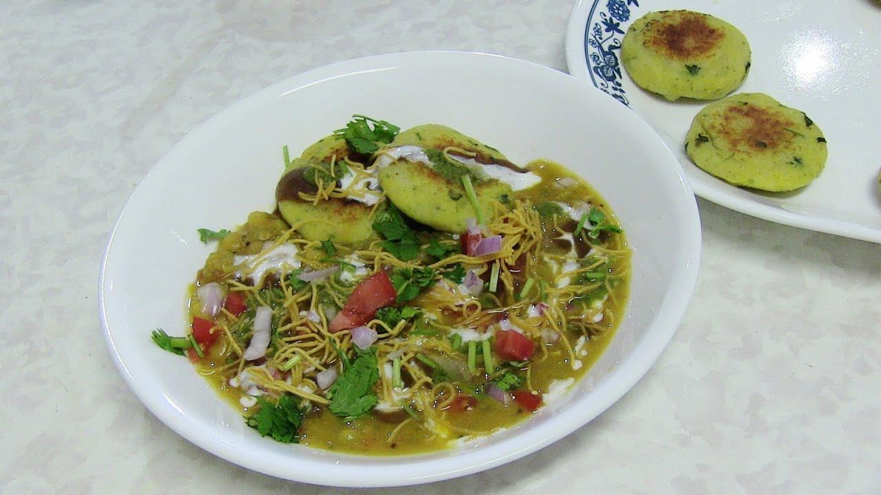 Ragda Patties Recipe Bhavna Kitchen
