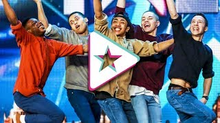 BEST EVER Dance Crews on Britain's Got Talent
