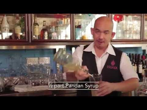 Best Bartender cocktails at Issaya Siamese Club Hong Kong by Chris Christopher