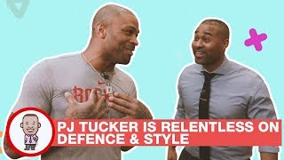 P.J. TUCKER IS RELENTLESS ON DEFENCE & STYLE on CABBIE PRESENTS
