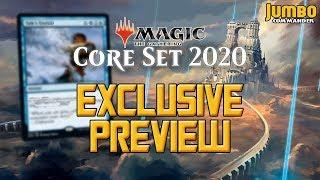 Magic Core Set 2020 Exclusive Preview Card - Tale's End