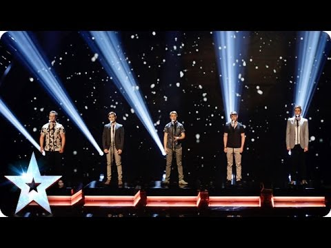 Musical theatre boyband Collabro sing Bring Him Home | Britain's Got Talent 2014