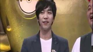 (ENG SUB) SeungGi sings car navigation directions set to Will you marry me (Strong Heart)