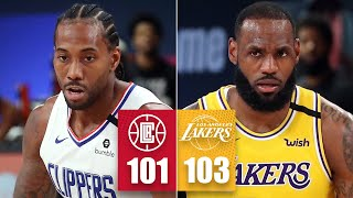 LA Clippers vs. Los Angeles Lakers [FULL HIGHLIGHTS] | 2019-20 NBA Highlights