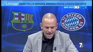 Barcelona-Bayern Monaco 2-8 con Valerio Pavesi (Nomi Senza licenza UEFA)