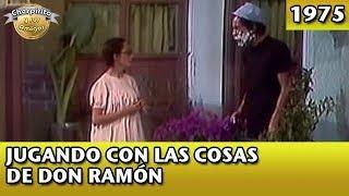 El Chavo | Jugando con las cosas de Don Ramón (Completo)