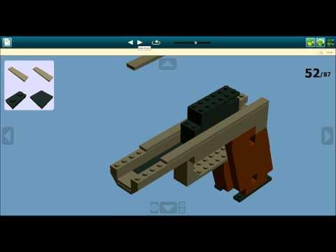 Ldd Lego Colt M1911 Instructions Youtube Musicbaby
