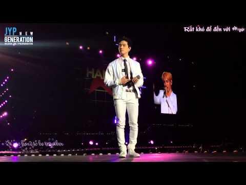Yêu Lại Từ Đầu - Key (Shinee), Chunji (Teentop)- Music Bank in HaNoi