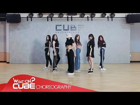 (여자)아이들((G)I-DLE) - '한(一)(HANN(Alone))' (Choreography Practice Video)