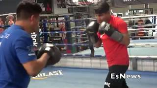 Mikey Garcia Killing The Mitts EsNews Boxing