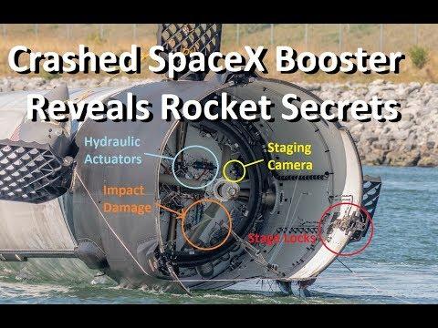 SpaceX's Water Landing Reveals Rocket