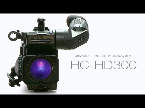 Ikegami HC HD300 Standard Package with Lens