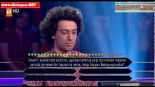 Kim milyoner olmak ister 280. bölüm 02.11.2013 Zühtücan Soysal