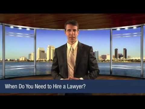 When Do You Need To Hire A Lawyer?