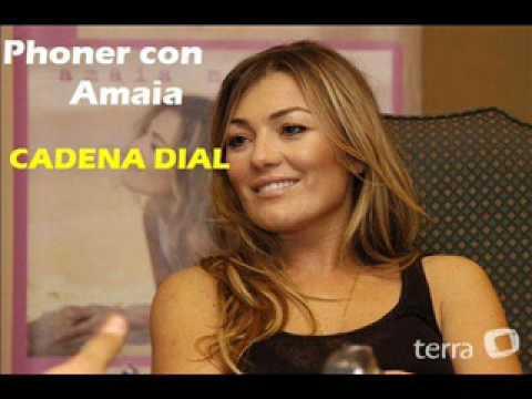 Phoner Amaia en Cadena Dial