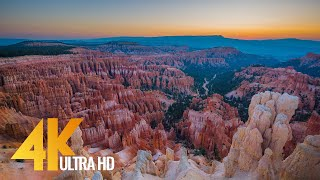 4K Amazing Nature - Most Beautiful Places In America - Part #1 - Relax Video (Nature Sounds & Music)