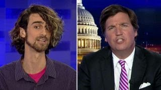 Tucker vs Antifa supporter: Are you really a professor?