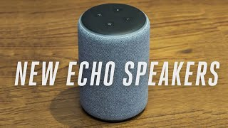 Amazon Echo Speakers 2018 hands-on