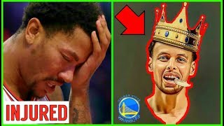 Why Derrick Rose MUST END HIS CAREER!! Steph Curry Took OVER his spot!!