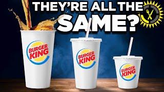 Food Theory: Never Order A Burger King Medium Soda!
