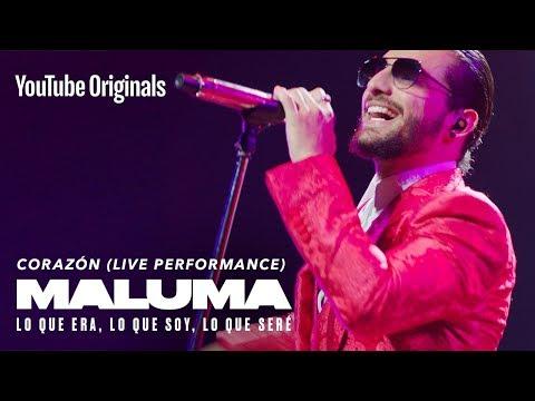 Corazón (Live Performance) | MALUMA: Lo Que Era, Lo Que Soy, Lo Que Seré