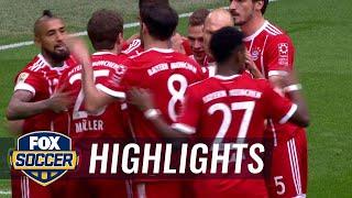 Bayern Munich vs. Hamburg SV   2017-18 Bundesliga Highlights