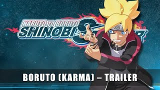 Boruto Uzumaki Launch Trailer preview image