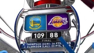 Golden State Warriors vs Los Angeles Lakers - January 5, 2016