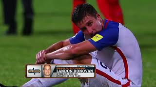 Former MLS Star Landon Donovan on How the USMNT Got to This Point | The Dan Patrick Show | 10/11/17