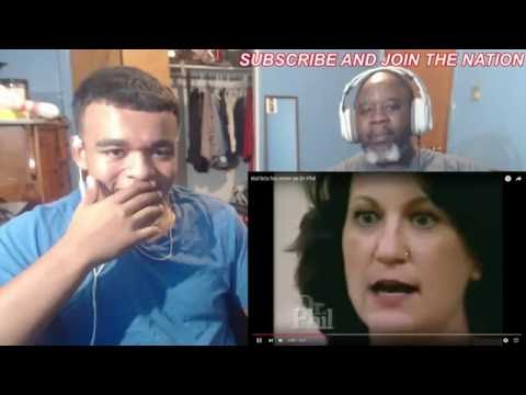 Fat Kid slaps his own mom on Dr. Phil Reaction!