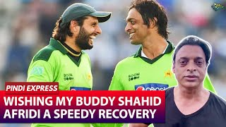 Praying for speedy recovery of Shahid Afridi from Covid- S..