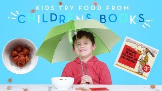 Kids Try Food from Children's Books | Kids Try | HiHo Kids