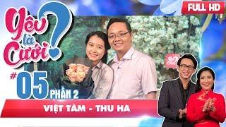 Nàng sinh viên bị 'đốn tim' trước chàng giảng viên đại học  | Việt Tâm - Thu Hà | YLC #5 💘