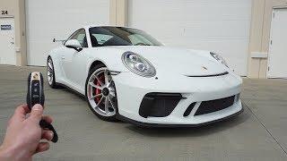 2018 Porsche 911 GT3: Start Up, Exhaust, Test Drive and Review