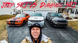 2016 Jeep Grand Cherokee SRT VS 2018 Dodge Durango SRT What SUV Is The Fastest