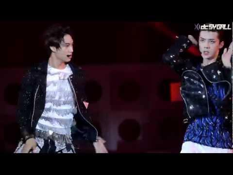 120712 여수 Expo Pop Festival - EXO-K (엑소케이) 카이 두개의 달이 뜨는 밤 (Two Moons) [DC SY GALL]
