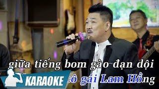 Chào Em Cô Gái Lam Hồng Karaoke Beat (Tone nam) - Tài Nguyễn | Nhạc Trữ Tình Karaoke