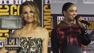 Natalie Portman Talks Female Thor, Tessa Thompson Confirms First LGBTQ Character
