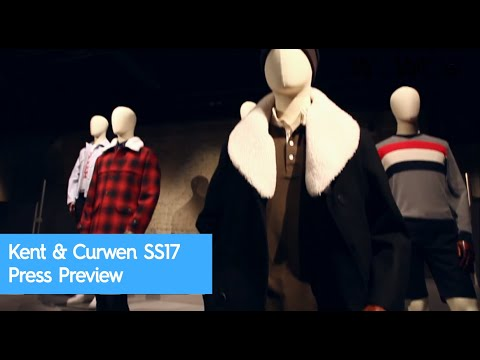 Kent & Curwen SS17 Press Preview