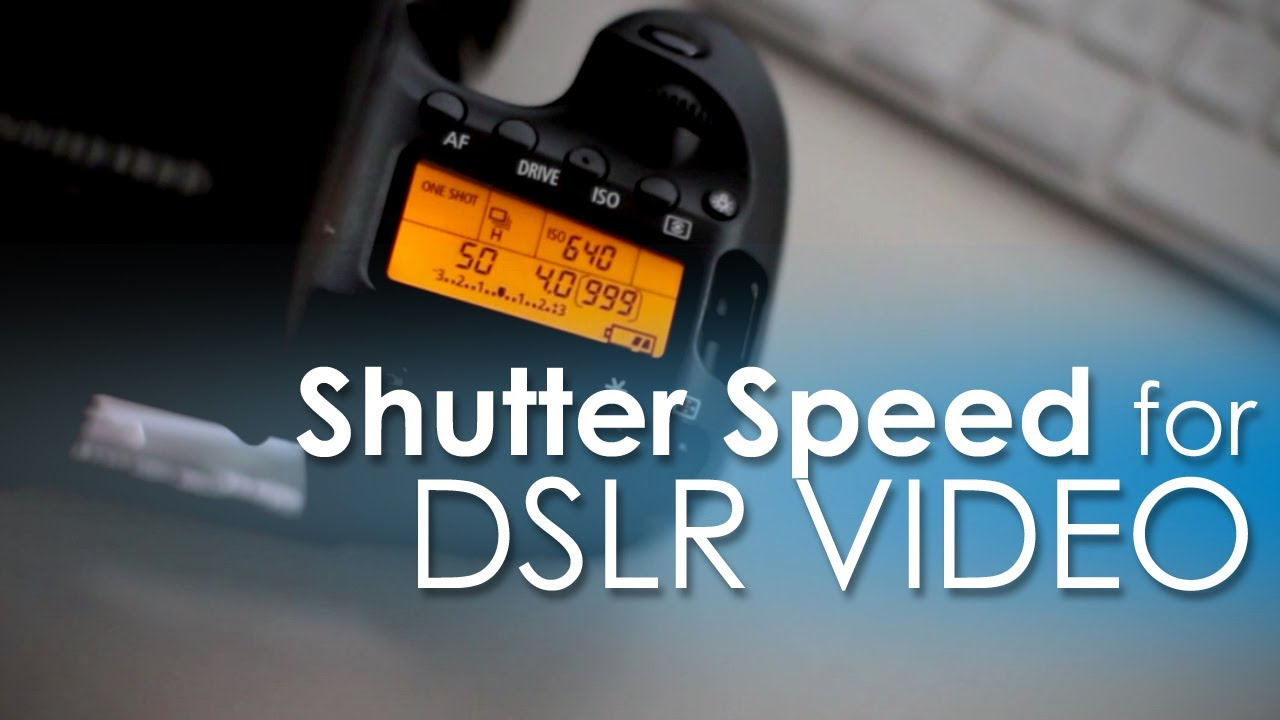 how to adjust the shutter speed