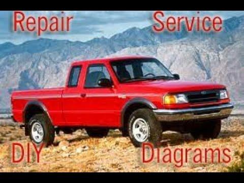 ford ranger      factory service repair manual