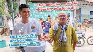 Khương Dừa hết h.ồ.n khi thấy Color Man bất ngờ xuất hiện tại Học Để Đổi Đời ở Tân Châu