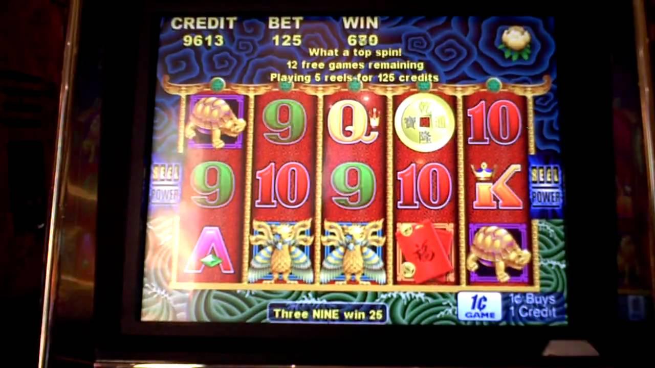 Dragon bonus slot machine