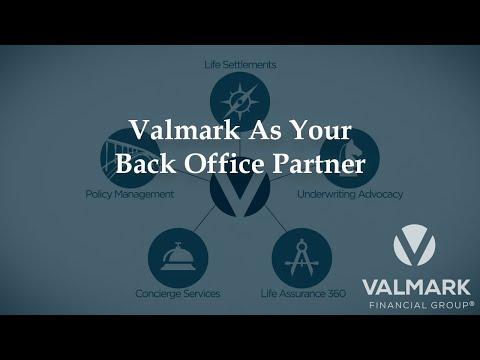 Valmark as your Back Office Partner