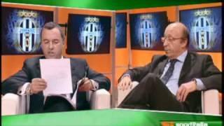 Bologna FC 1909 01/03/2010 Moggi vs. Pistocchi rissa con pensierino finale al BFC