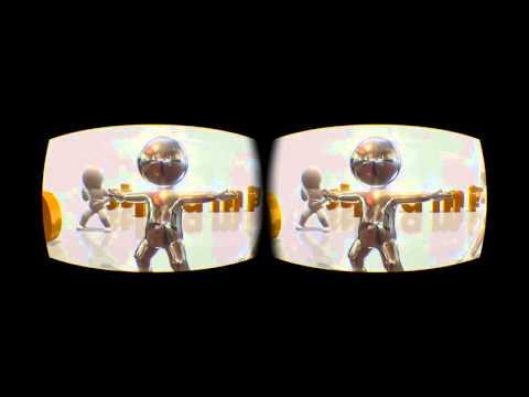 Animation Dance 2015 VR version 3D FULL SBS yt3d @3Dstreaming