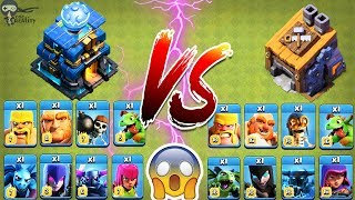New TH-12 Troops vs BH Troops 🔥🔥 Clash of clans Ultimate Battle | Town Hall vs Builder Base Troops
