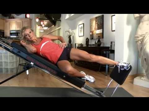 Single Leg Press on the Total Trainer Home Gym